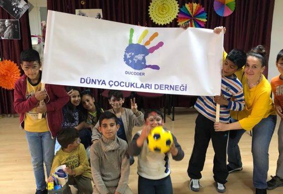 23 Nisan 2018 Roman Çocuklarıyla Etkinlik
